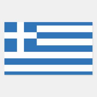 Greek flag stickers