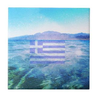 GREEK FLAG TILES