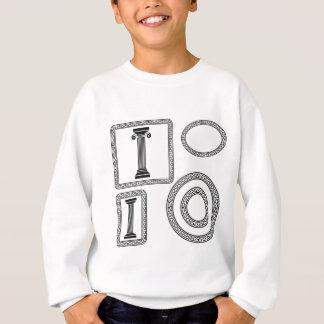 greek frame sweatshirt