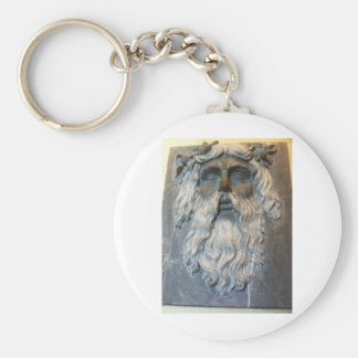Greek god key chain