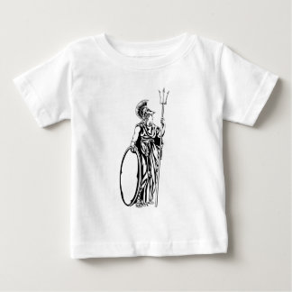 Greek Goddess Athena Warrior Baby T-Shirt