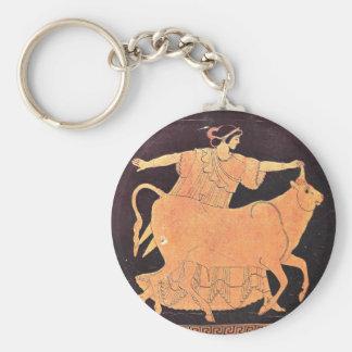 Greek Goddess Europa Keychain