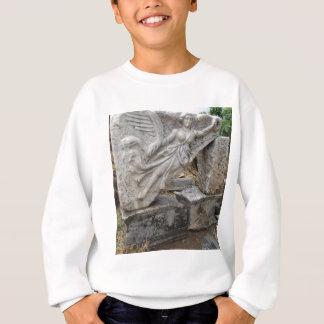 Greek Goddess Nike at Ephesus, Turkey Sweatshirt
