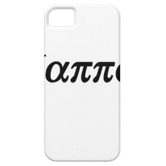 "GREEK GRANDAD ""BAPPOU"" iPhone 5 CASE"