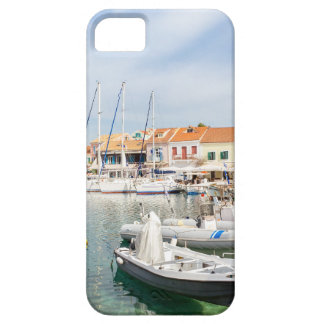 Greek harbor with sailing boats in Fiskardo Case For The iPhone 5