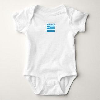 Greek Hellas Baby Baby Bodysuit