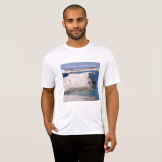 Greek Island LAVA ROCKS, CAVE & SEA  T-Shirt