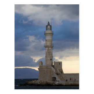 Greek Island of Crete and old town of Chania 2 Postcard