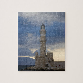 Greek Island of Crete and old town of Chania 2 Puzzle