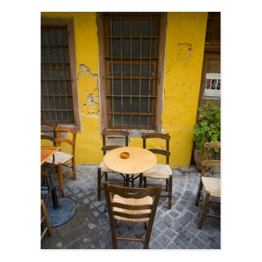 Greek Island of Crete and old town of Chania 3 Postcards