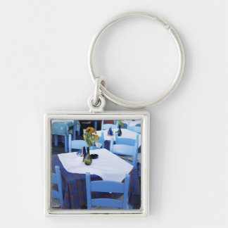 Greek Island of Crete and old town of Chania Keychain