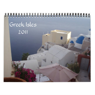 Greek Isles 2011 Calendars