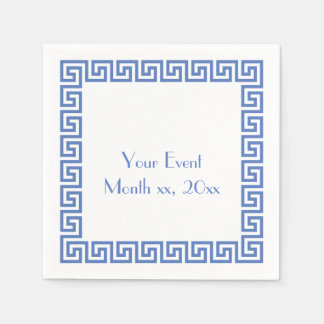 Greek Key Design Paper Napkins