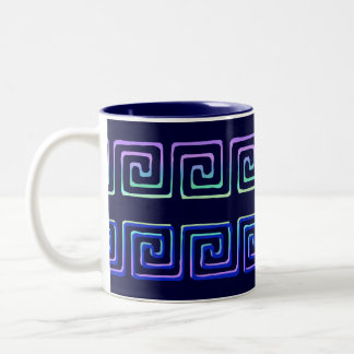 Greek Key Design Vintage Art Coffee Mug