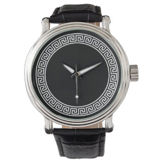 Greek Key Design Watch