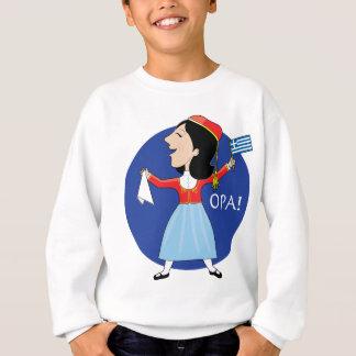Greek Lady Dancing Sweatshirt