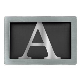 Greek Letter- Alpha Rectangular Belt Buckles