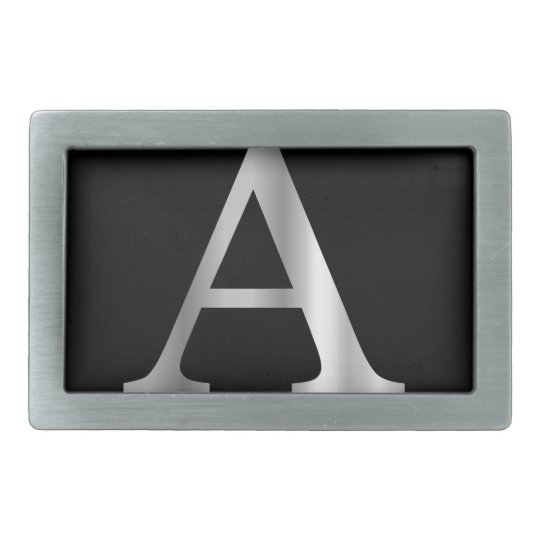 Greek Letter- Alpha Rectangular Belt Buckles