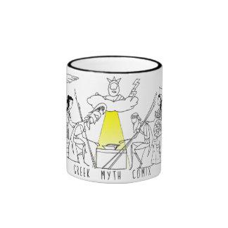 Greek Myth Comix logo mug