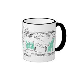 Greek Myth Comix Orpheus in the Underworld mug! Ringer Mug
