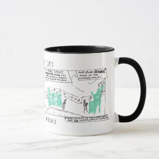 Greek Myth Comix Orpheus in the Underworld mug! Mug