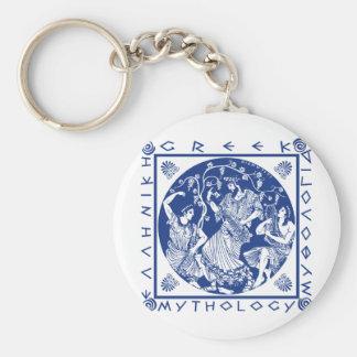 Greek Mythology - Blue Keychains