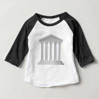 Greek or Roman Temple Columns Baby T-Shirt