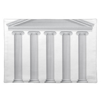Greek or Roman Temple Columns Placemat
