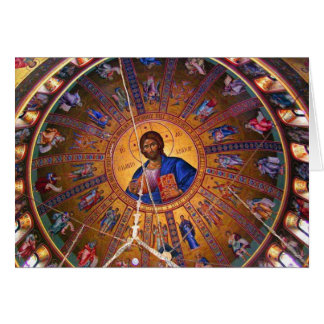 Greek Orthodox Ceiling - Beauty of Christmas Card