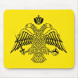 Greek Orthodox Church flag Mount Athos religious Mouse Pad