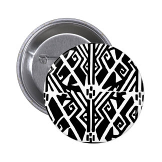 Greek Pattern 2 Inch Round Button