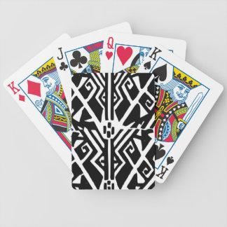 Greek Pattern Bicycle Playing Cards