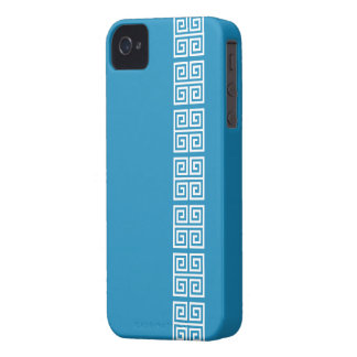 Greek Pattern Blackberry Bold case, customizable Case-Mate iPhone 4 Case