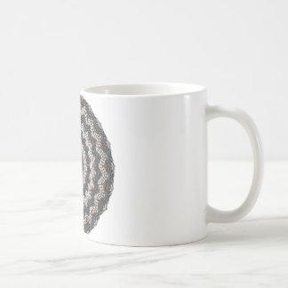 Greek Pebble Mosaics Contemporary Fine Art Coffee Mug