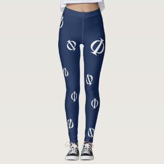 Greek Phi Leggings