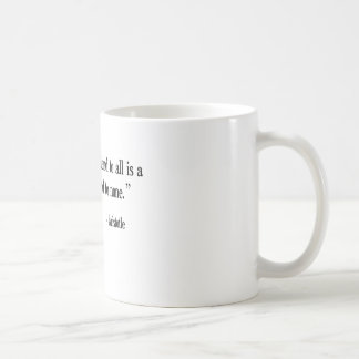 Greek Philosopher Aristotle coffee cup