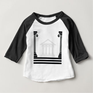 greek pillars baby T-Shirt