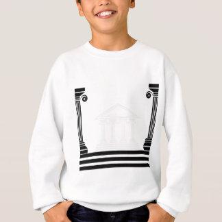 greek pillars sweatshirt