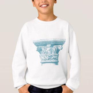 greek roman column 3 sweatshirt