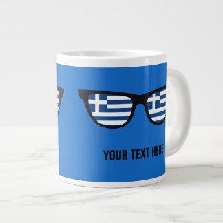 Greek Shades custom mugs Jumbo Mug