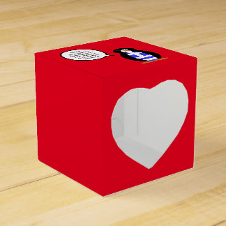 Greek Talking Penguin Flag Party Favor Boxes