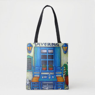 Greek Taverna Bag By Lisa Lorenz