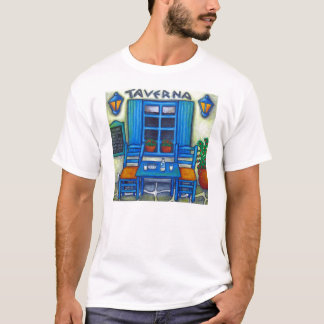 Greek Taverna Tshirt