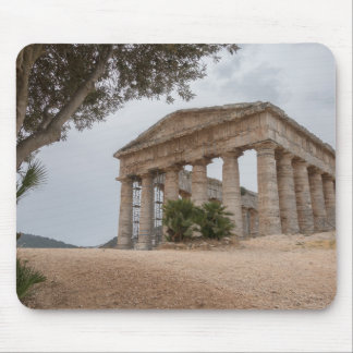 Greek temple at Segesta, Sicily Mouse Pad