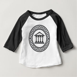 Greek temple baby T-Shirt