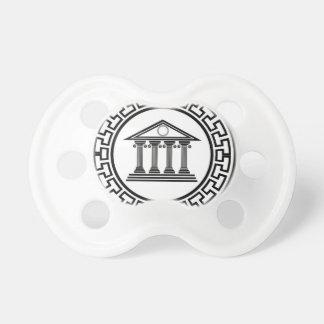 Greek temple pacifier