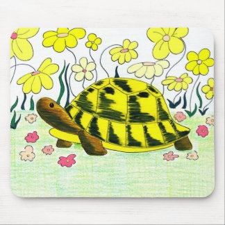 Greek Tortoise Mouse Pad