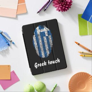 Greek touch fingerprint flag iPad air cover