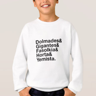 Greek Veggies! Sweatshirt