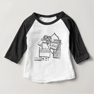 Greek Warrior Art Baby T-Shirt